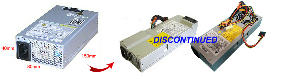 Power Supply Upgrade for HP Pavilion XG838 MicroATX SFX-12V Slimline