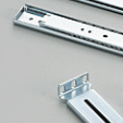 "19"" telescopic rails"