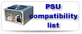 PSU compatibility list