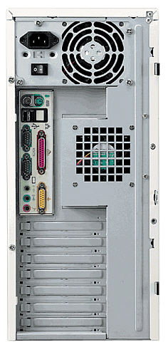 ECE4252 ATX tower case back
