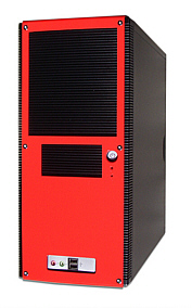 KM4023 red ATX Tower Case