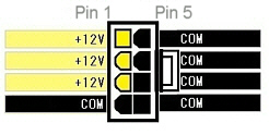 8Pin PCI Express Connector pinout