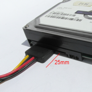 Standard SATA connector